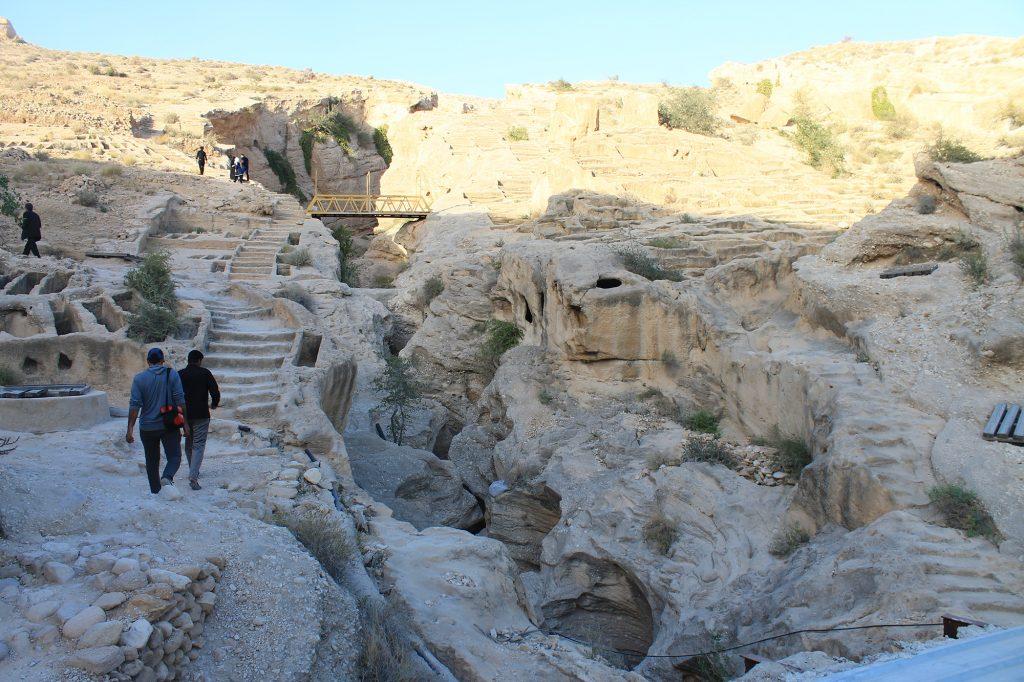 Rock Cut Cemetery Bandar Siraf Bushehr Golfe Persique Sud Iran