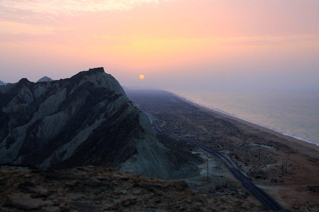 Lipar Road Sistan Balouchistan Chabahar Darak Beach Sud Iran