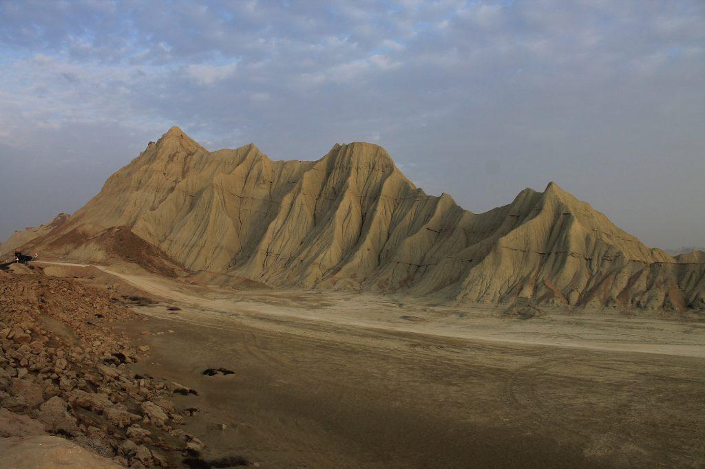 Montagnes martiennes Sistan Balouchistan Chabahar