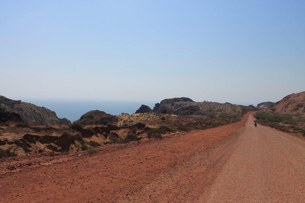 Ile Hormuz Golfe Persique Sud Iran Côte Sable Rouge