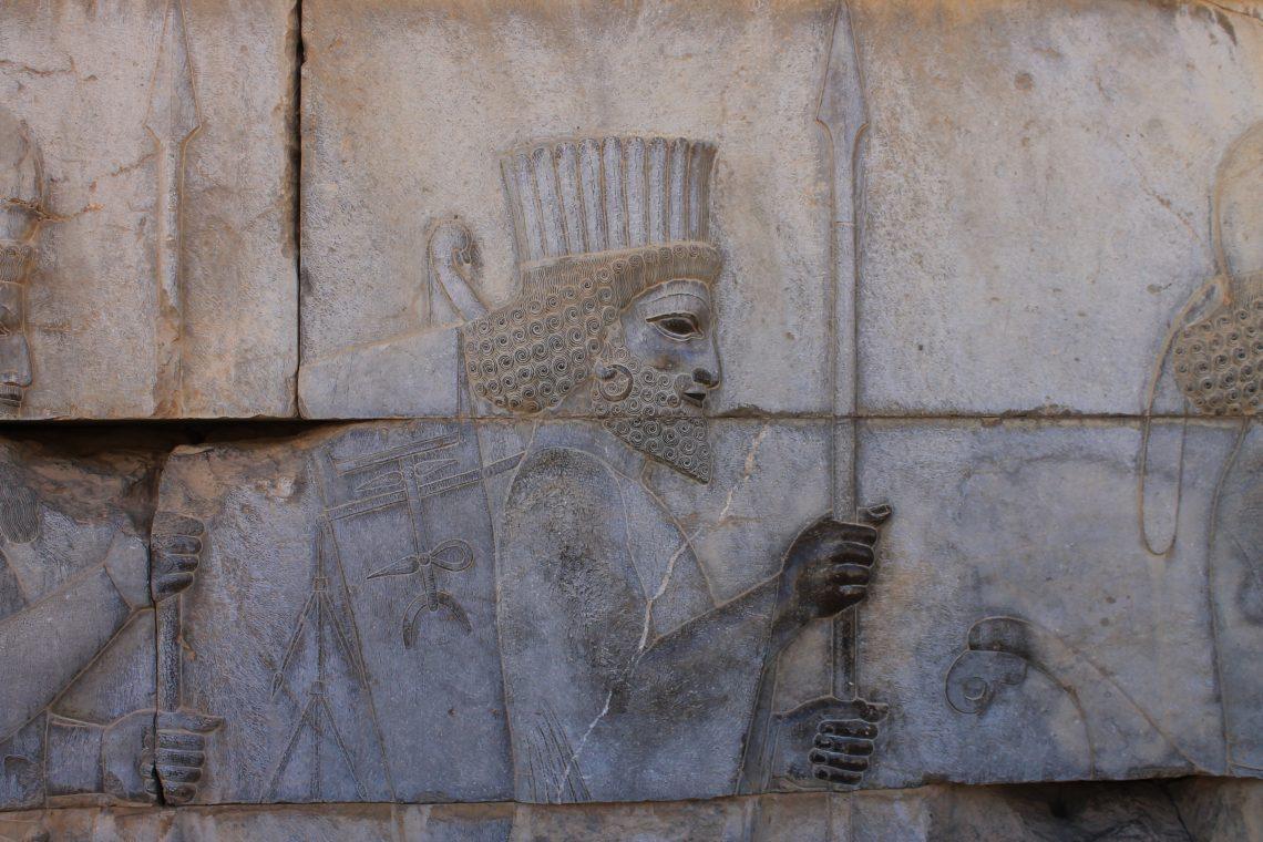 Bas reliefs de Persépolis, en Iran