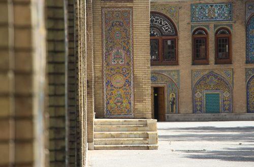Mosaiques au Palais du Golestan, Téhéran